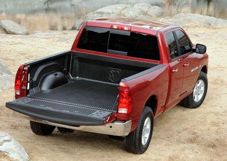 ram truck rear