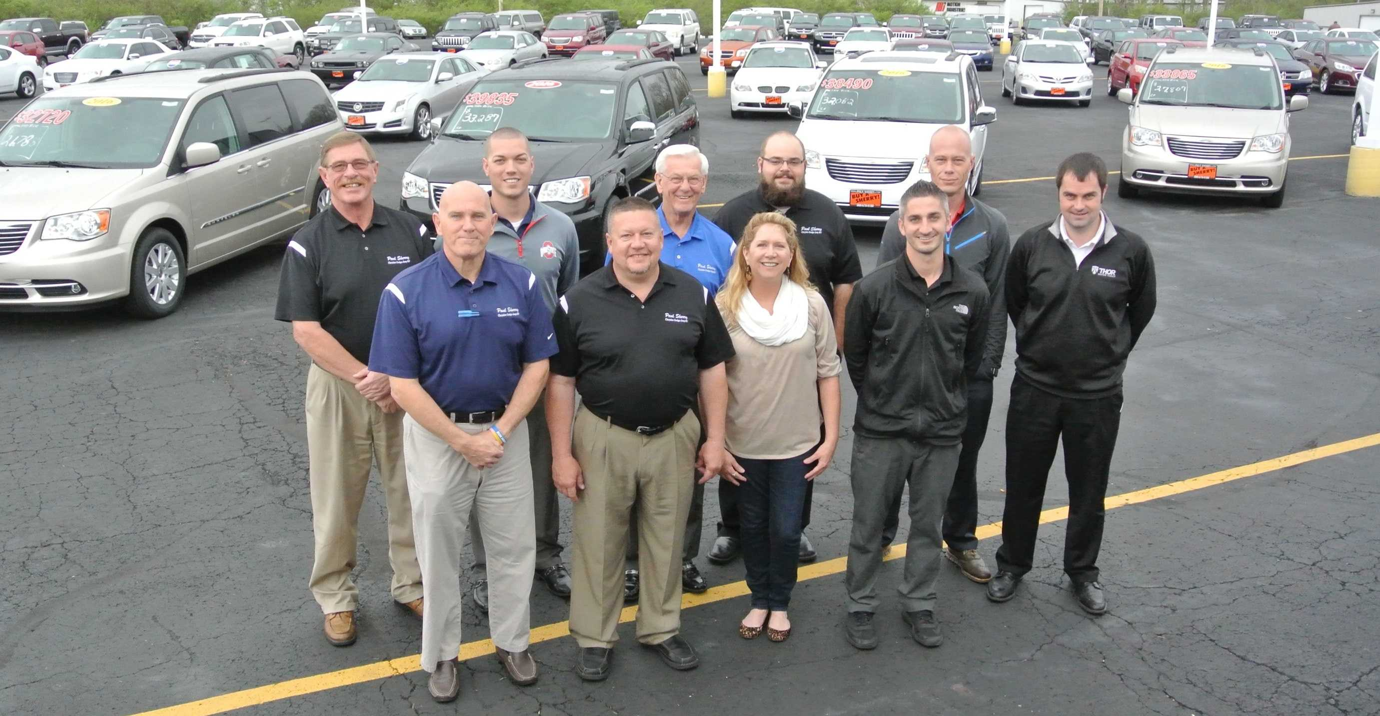 sherry chrysler car sales team