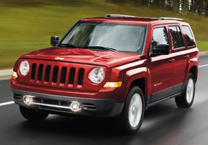 jeep patriot exterior