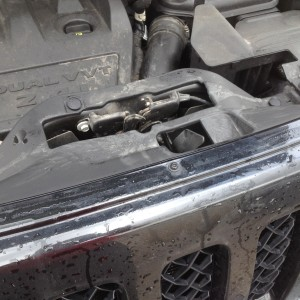 jeep patriot hood latch