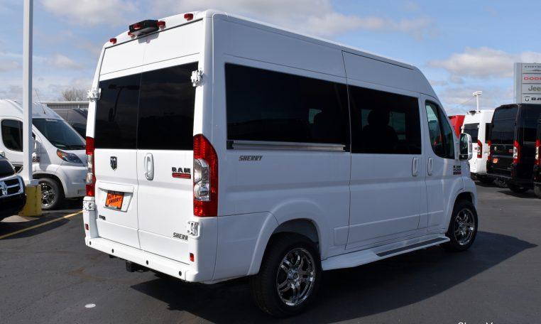 2017 ram promaster sherry vans 7 passenger 27799t paul sherry chrysler dodge jeep ram. Black Bedroom Furniture Sets. Home Design Ideas