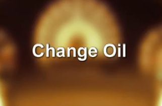 How to reset the change oil notification in a Chrysler 300