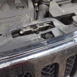jeep patriot hood latch