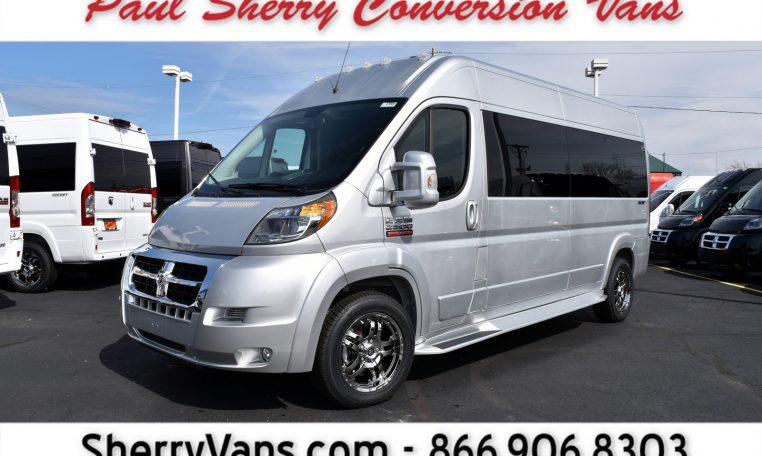 2017 Ram ProMaster – Sherry Vans 9 Passenger High-Top   27868T   Paul Sherry Chrysler Dodge Jeep RAM
