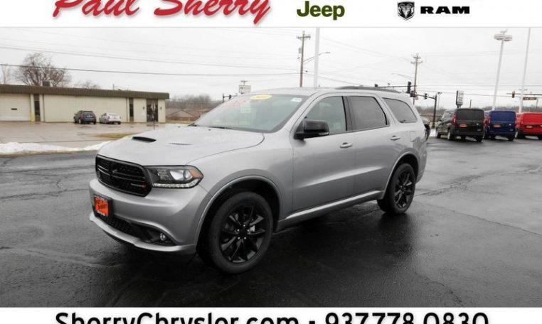 2018 Dodge Durango Gt Blacktop Awd 28195t Paul Sherry