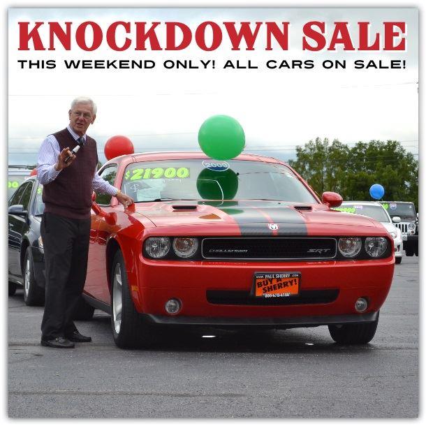 paul sherry knockdown sale
