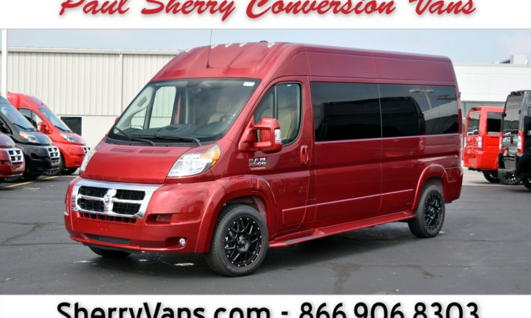 1d3b72f210 2018 Ram ProMaster – Sherry Vans 9 Passenger