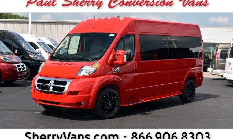 3159d8bc57 2018 Ram ProMaster – Sherry Vans 9 Passenger