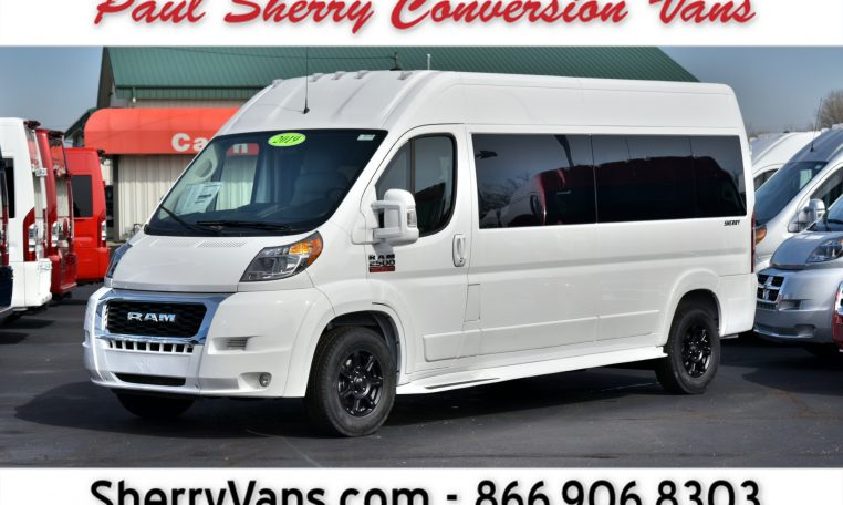 Dodge Conversion Van >> 2019 Ram Conversion Van Sherry Vans 9 Passenger 28788t