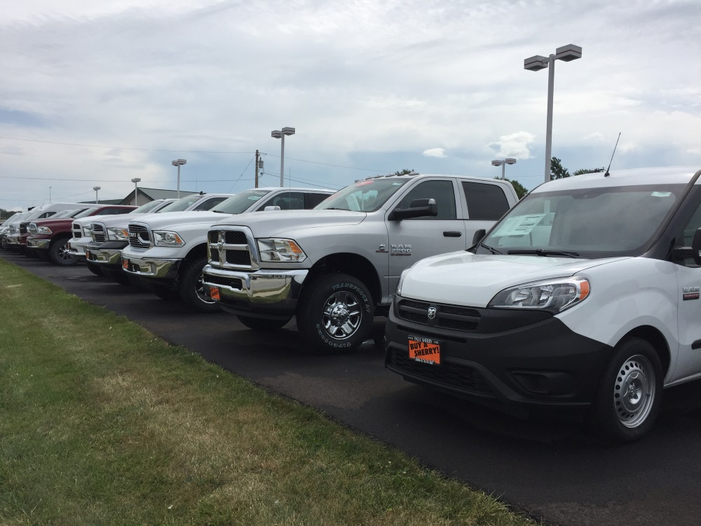 fleet order commercial trucks ohio