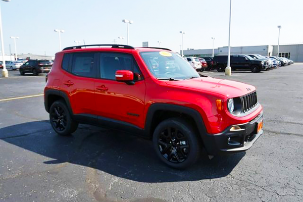 2018 Jeep Renegade Altitude New May Incentives 4x4