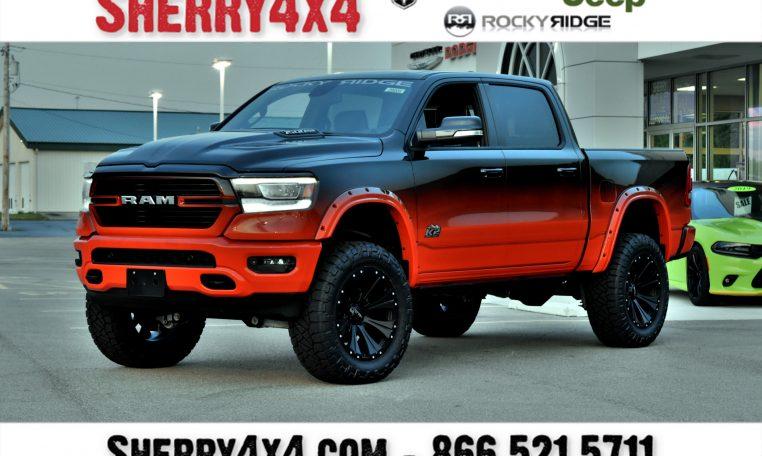 Dodge Ram 1500 Tires >> 2019 Ram 1500 Rocky Ridge Trucks K2 29008t