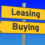 leasing or financing a new car
