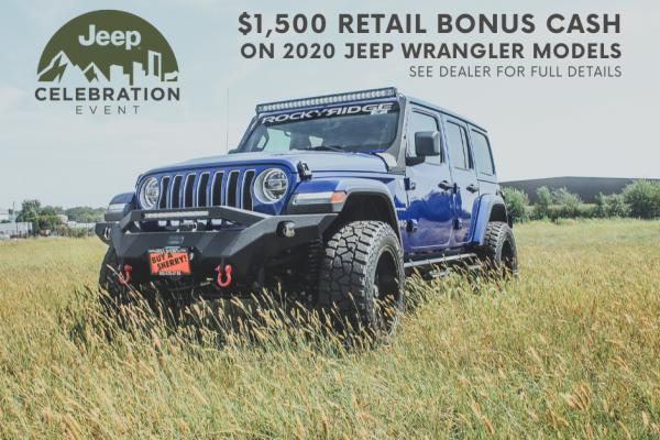 Jeep Celebration Sales Event Sherry Chrysler National Incentives Piqua Ohio