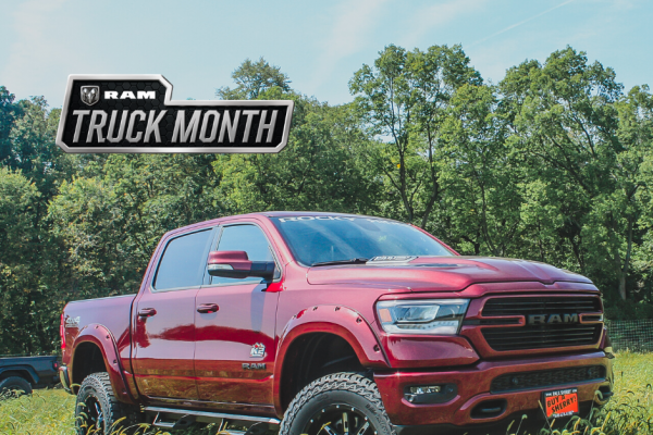 Ram Truck Month Sales Event Sherry Chrysler National Incentives Piqua Ohio