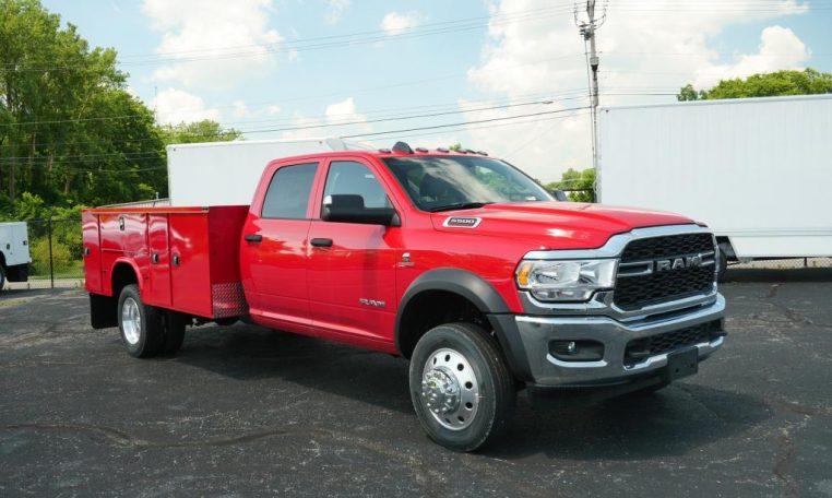 new 5500 commercial custom truck