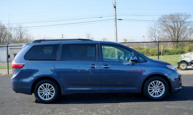 Toyota Dealership Dayton Ohio >> 2016 Toyota Sienna XLE | CP16421T | Paul Sherry Chrysler ...